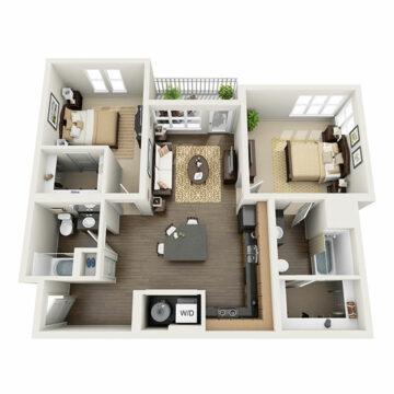 F-207 floor plan