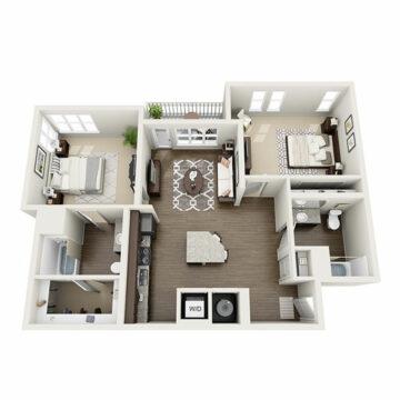 H-202 floor plan