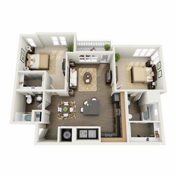 A-301 floor plan
