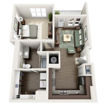 G-105 floor plan